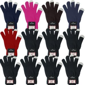 Magic Touchscreen Gloves Assorted Case