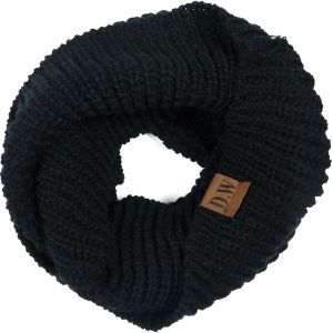 Infinity Loop Scarf Black