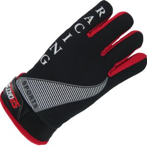 Fur Lined Sport Glove Black Case