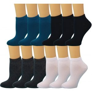 Ankle Summer Socks BLue/Grey/Teal/White Case