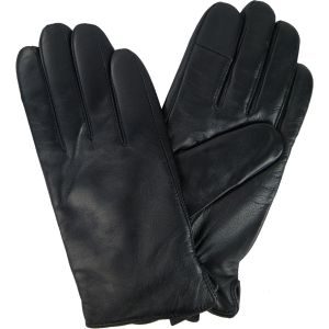 Mens Leather Winter Gloves Cashmere Lined