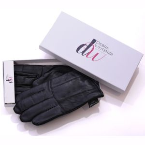 Womens Leather Winter Gloves Thinsulated Lined W/Gift Box