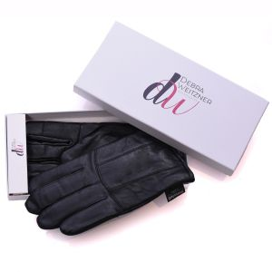 Mens Leather Winter Gloves Thinsulate Lined W/Gift Box