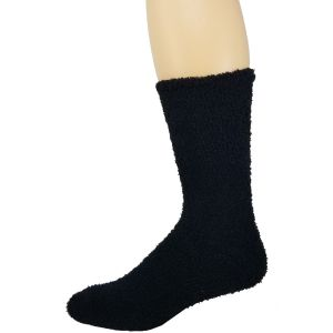 Fuzzy Men Solid Socks