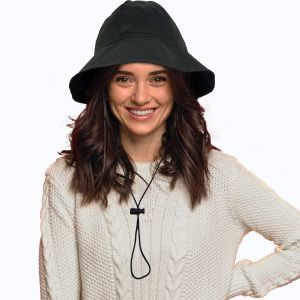 Reversible Rain Hat With Strings
